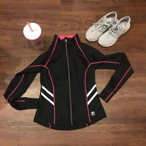 gently used FILA workout jacket XS